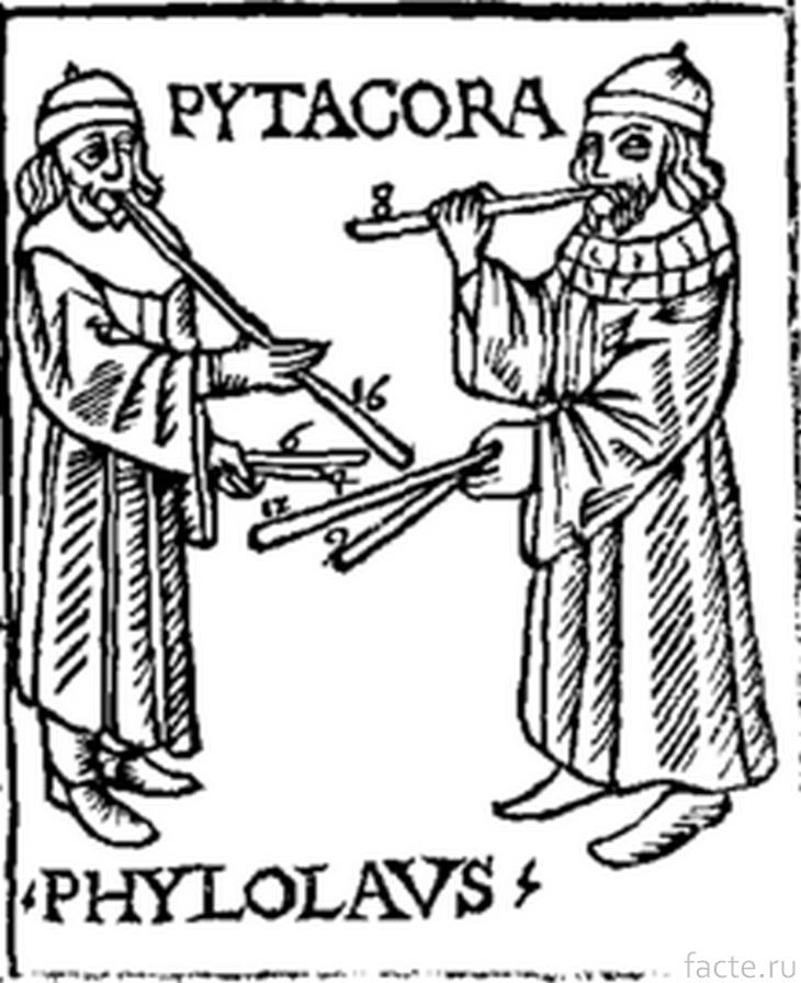 Пифагор и Филолай