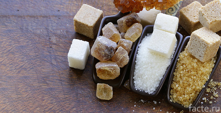 Сахар-сырец и рафинированный сахар