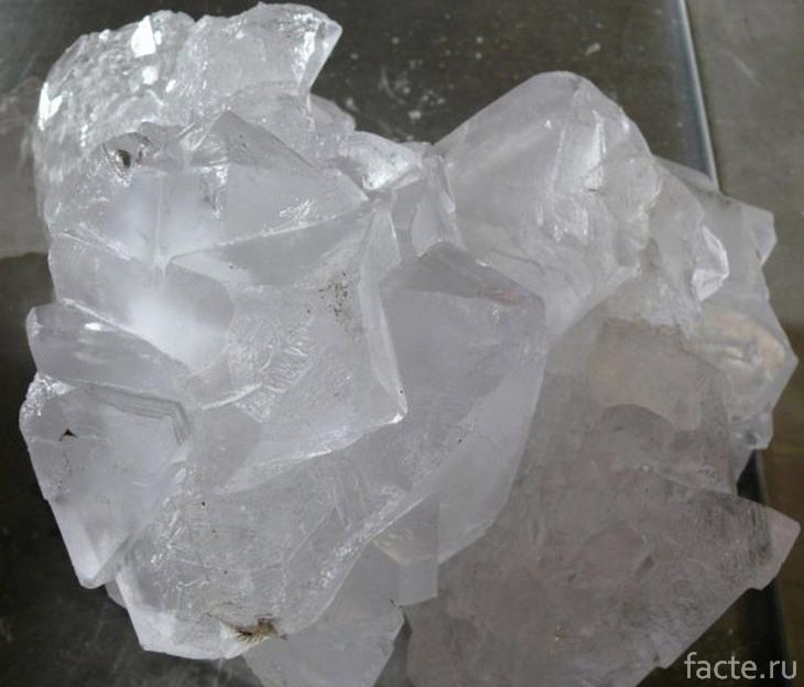 Ацетат свинца. Кристалл