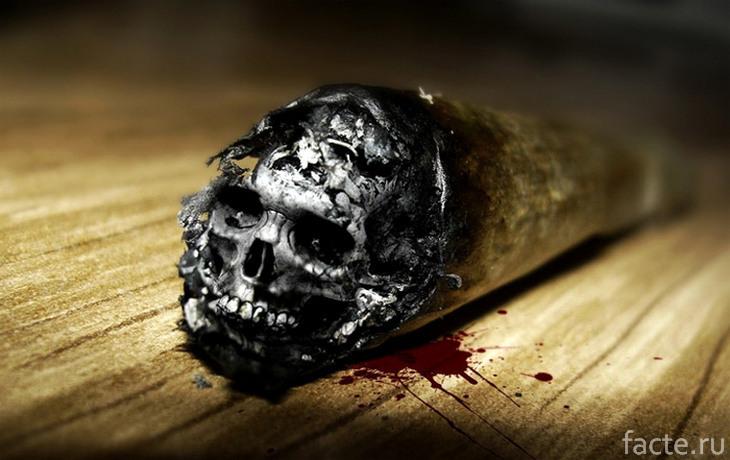 Сигара с черепом