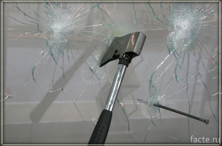Пуленепробиваемое стекло