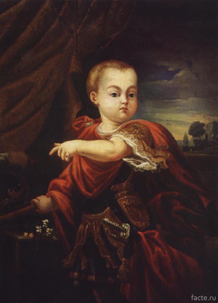 Портрет маленького императора Иоанна