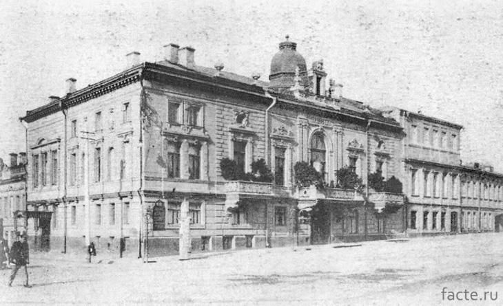 Ресторан «Эрмитаж» до революции