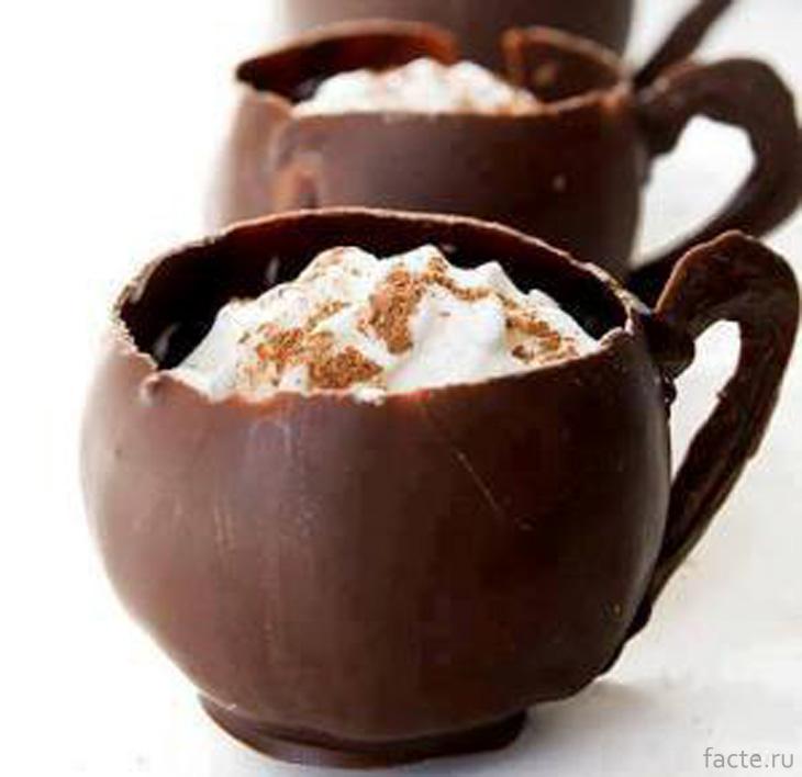 Шоколадные чашечки