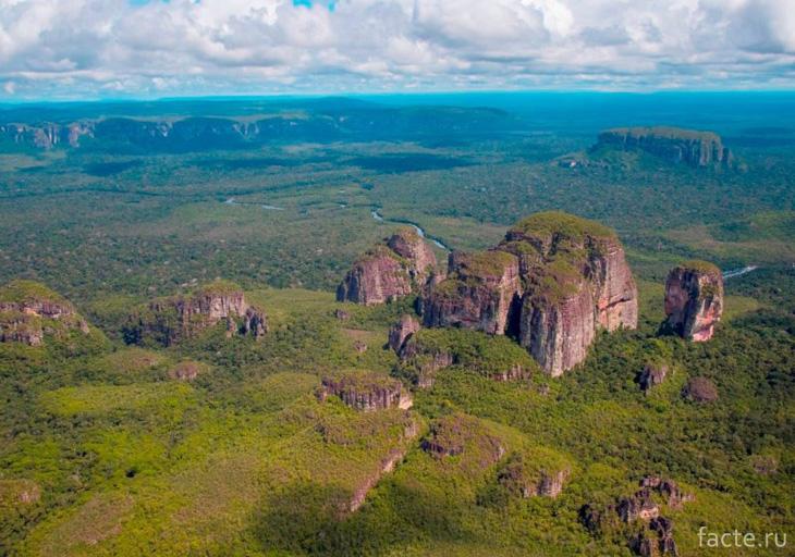 Национальный парк Chiribiquete