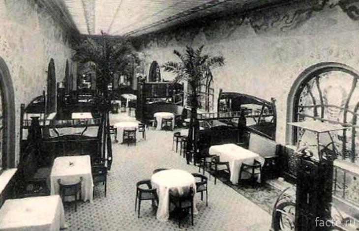 Один из залов ресторана