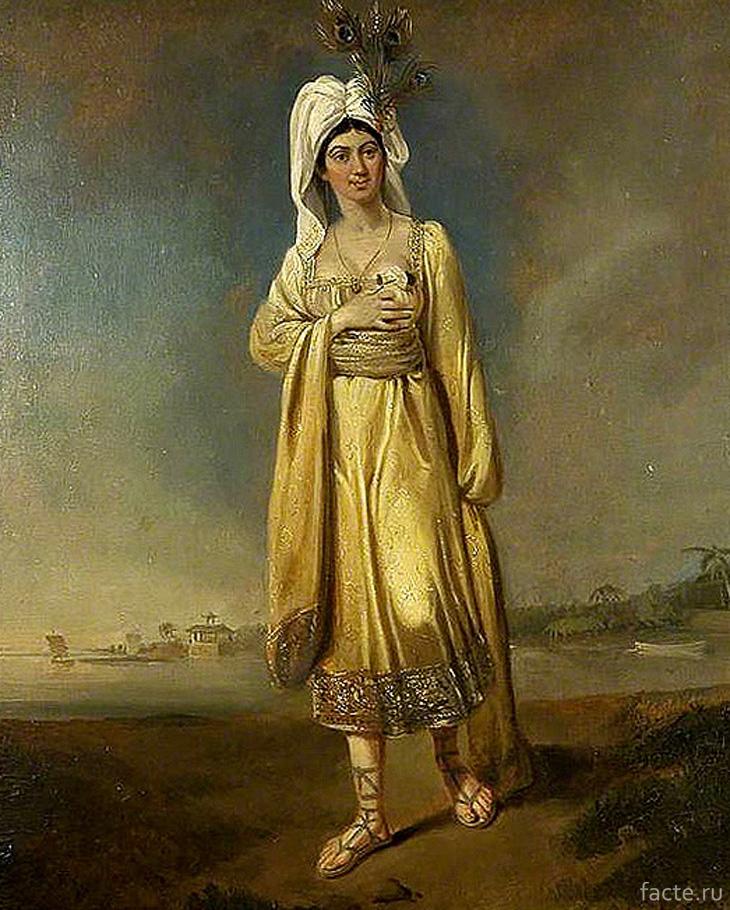 Эдвард Бэрд «Карабу, принцесса Явасу». 1817 г.