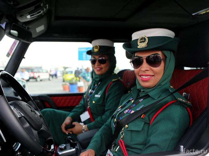 Полиция в ОАЭ
