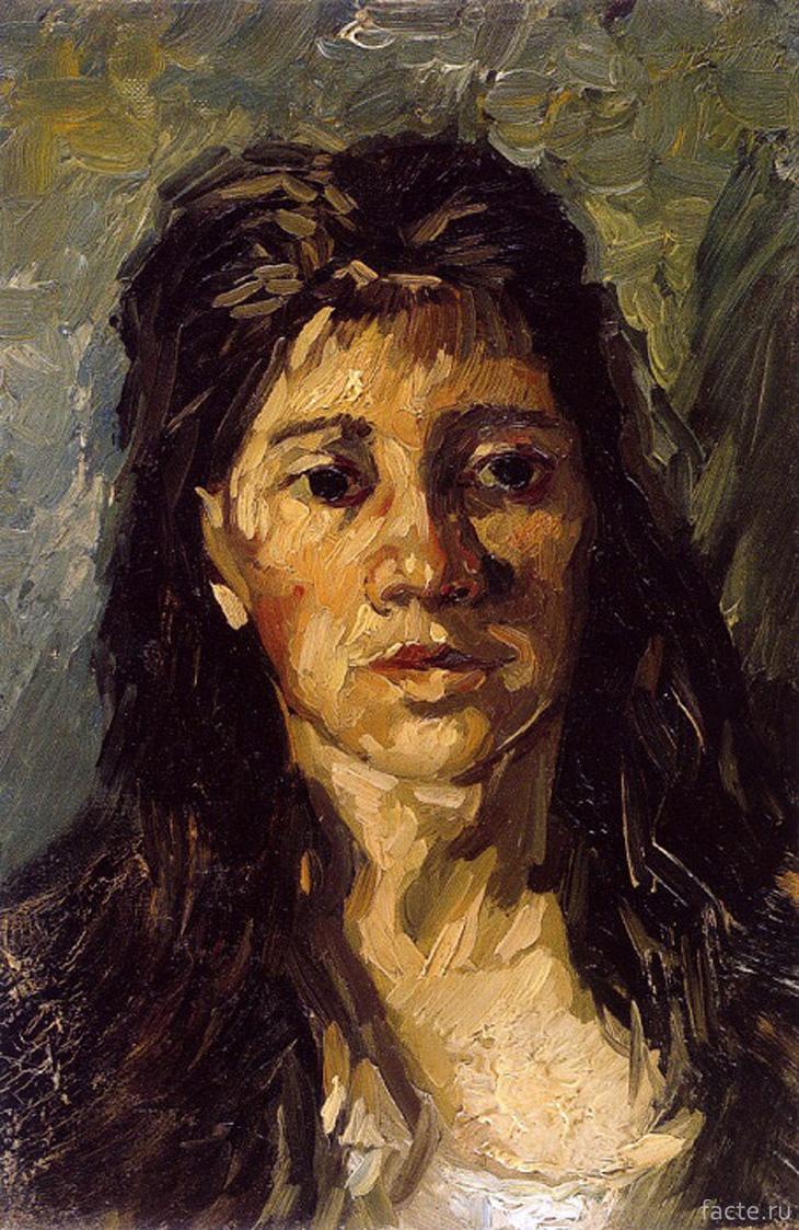 «Портрет женщины с распущенными волосами»