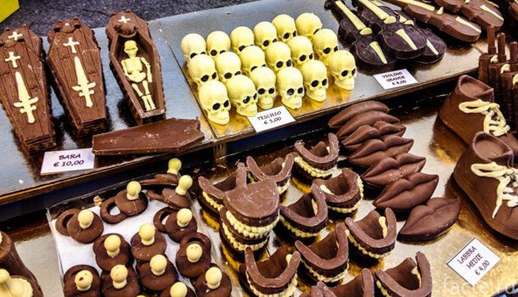 Шоколадные черепа