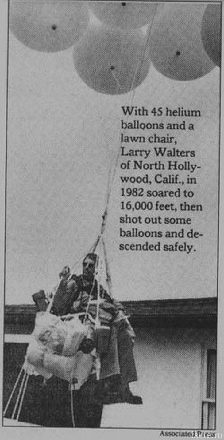 Ларри Уолтерс. Статья в газете
