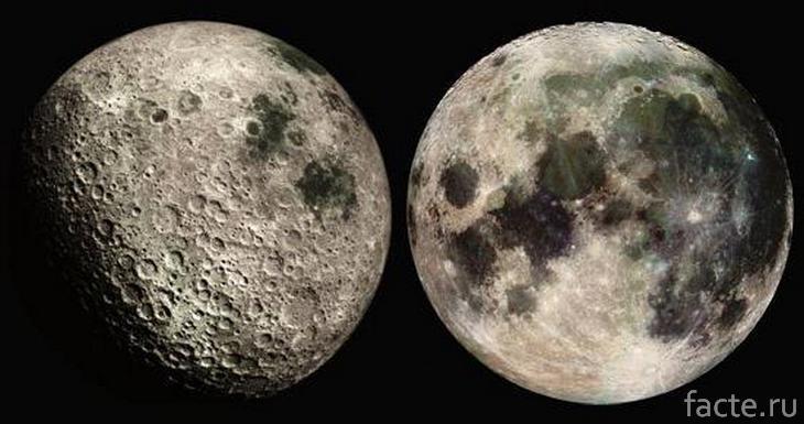 Ближняя и дальняя сторона Луны