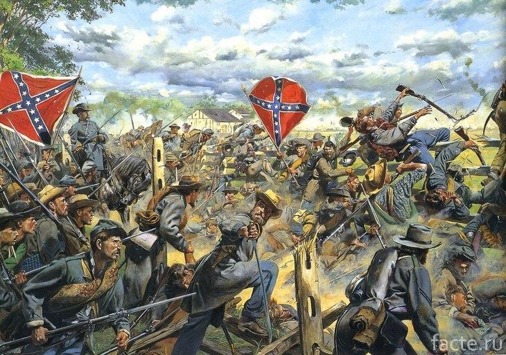 Гражданская война в США. Юнионисты