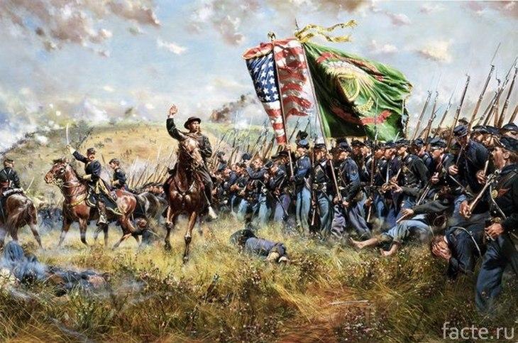 Гражданская война в США. Конфедераты