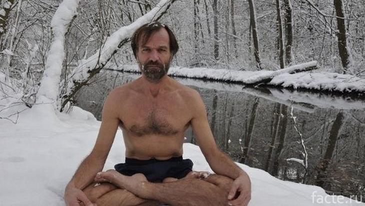 Вим Хоф медитирует