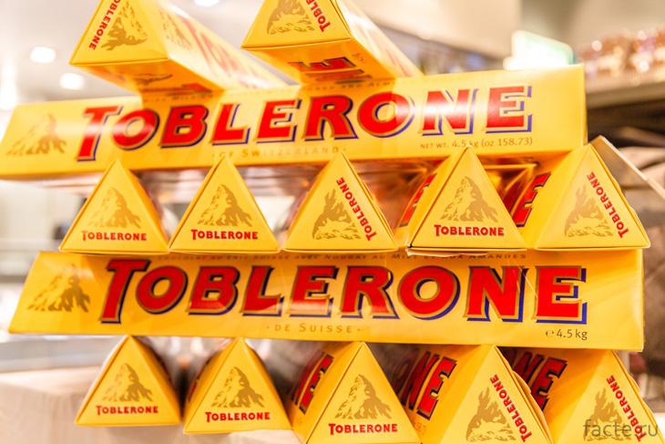 Плитки «Toblerone»