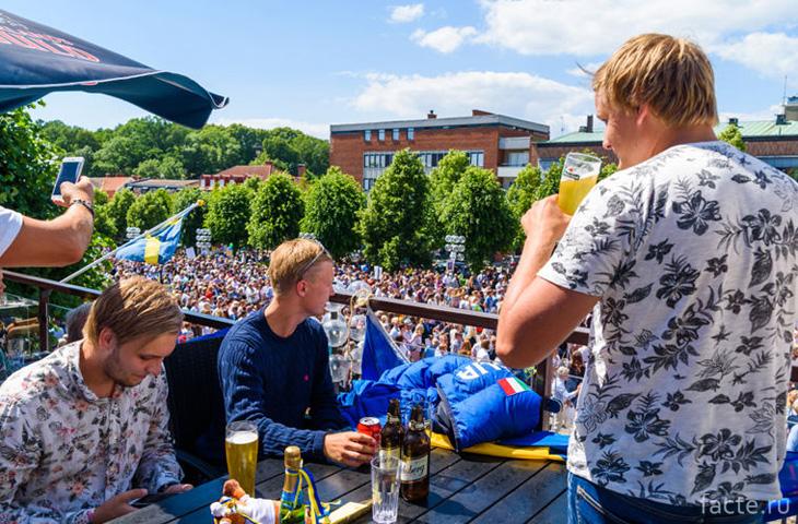 Праздник в Швеции