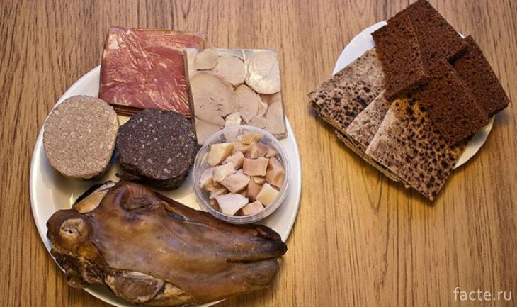 Кулинарные блюда Исландии