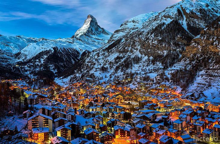 Швейцария. Церматт