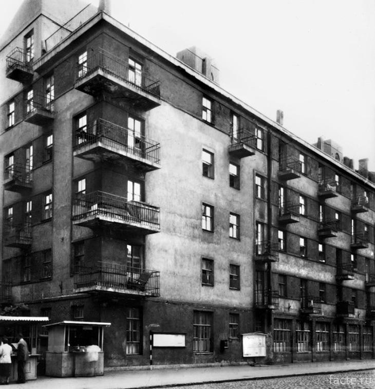 Дом-коммуна в советские годы