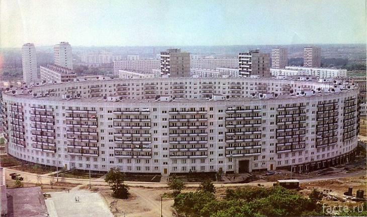 В 1972 году было завершено грандиозное строительство