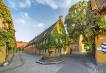 Квартал Фуггеров в Аугсбурге