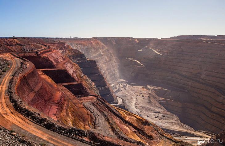 Самый большой золотой рудник
