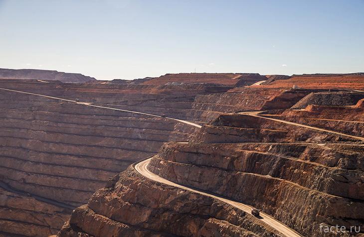 Пласты рудника