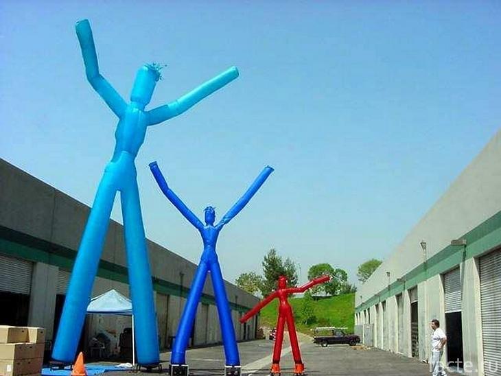 «Воздушные танцоры» разных размеров