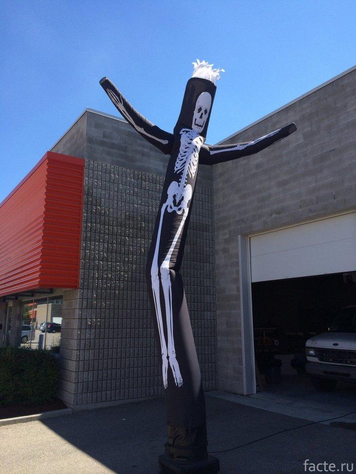 «Воздушный танцор»-скелет