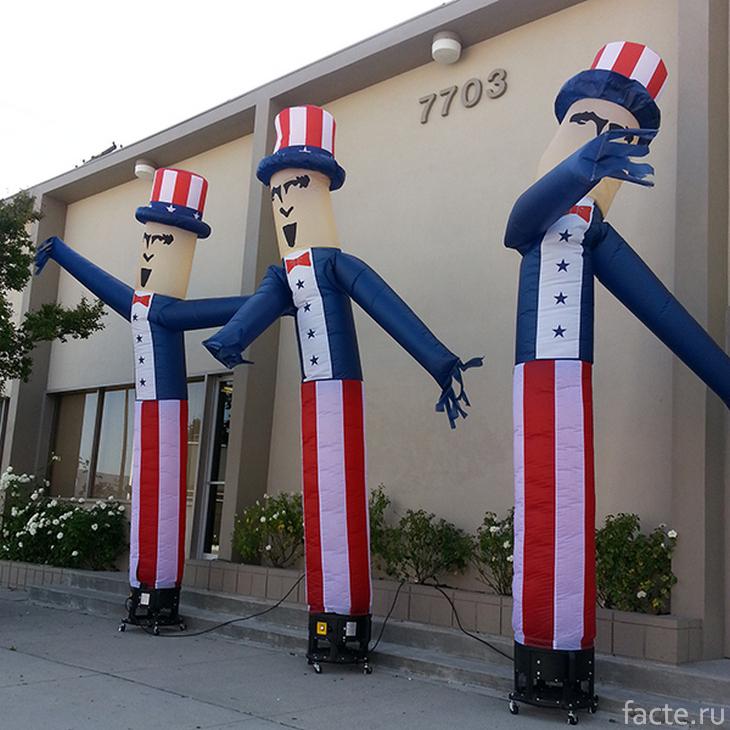 Американские «воздушные танцоры»
