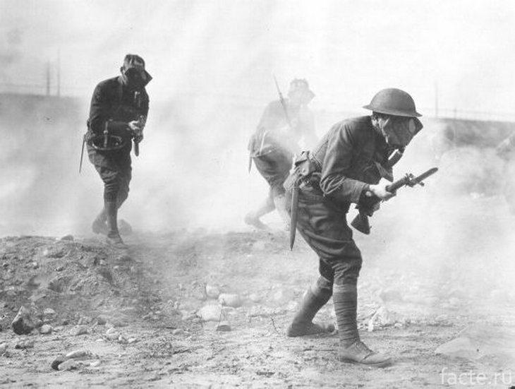 Горчичный газ на войне
