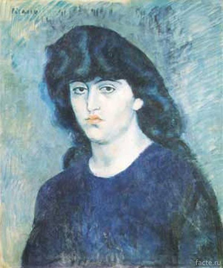 «Портрет Сюзанны Блох» Пикассо