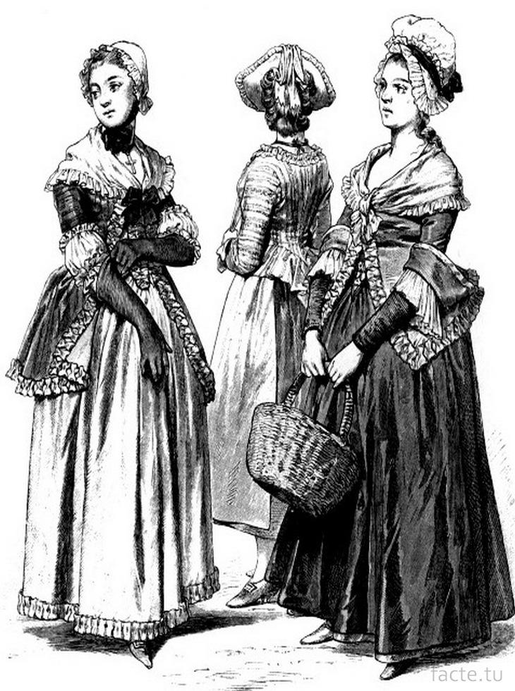 Женщины 18 век