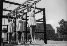 Фитнес в начале прошлого века