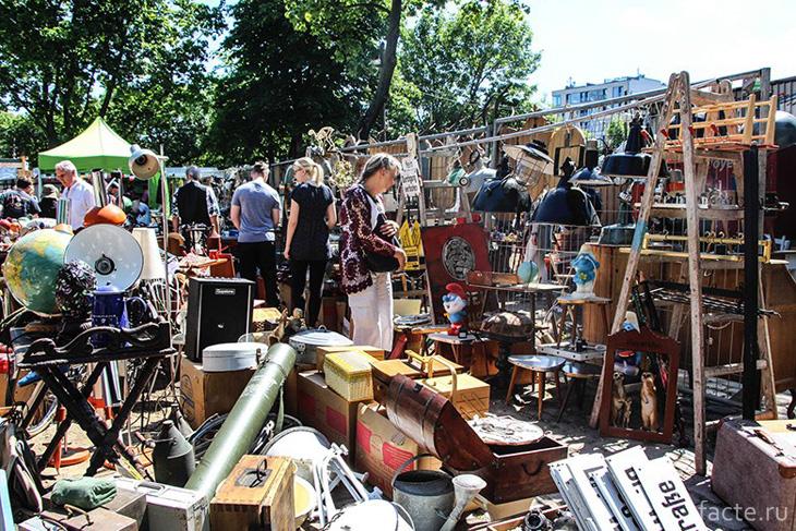 «Блошиный рынок» - Mauerpark