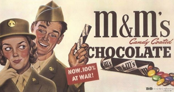 История M&M'S