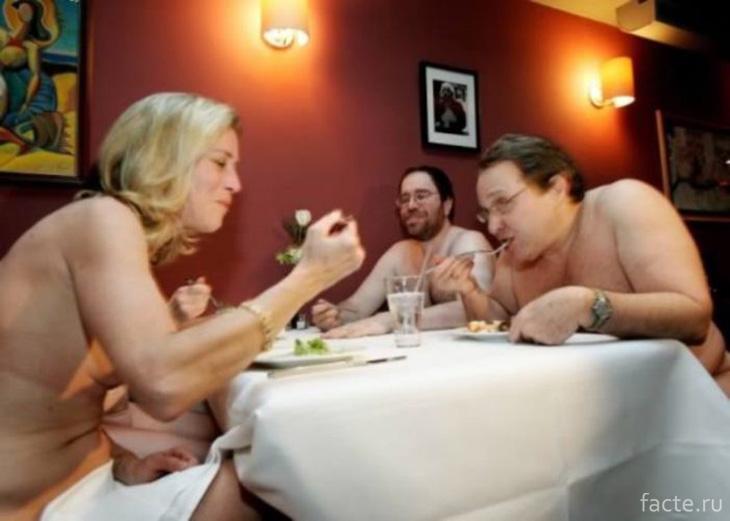 Ресторан для сторонников нудизма