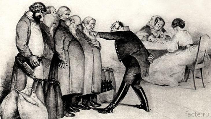 Чиновничьи поборы были для народа обычным делом