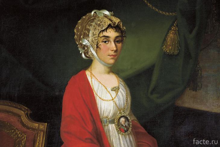 Фрагмент портрета П. Ковалевой-Жемчуговой