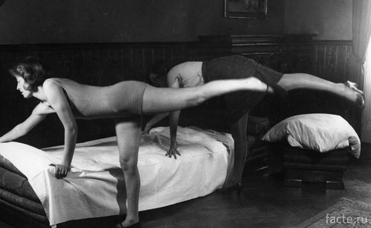 Упражнения для домохозяек