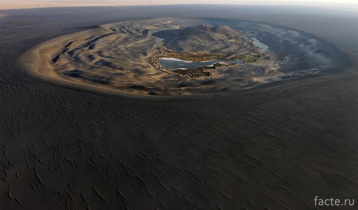 Пейзаж в пустыне