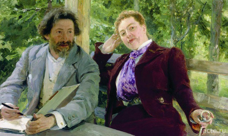Репин и Наталья Нордман