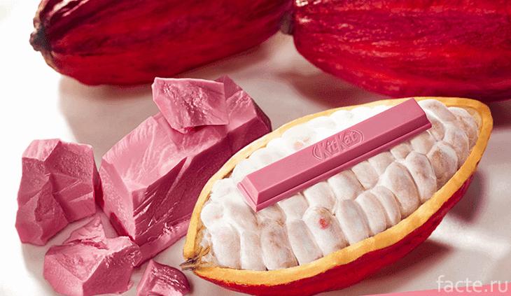 «Рубиновый» шоколад