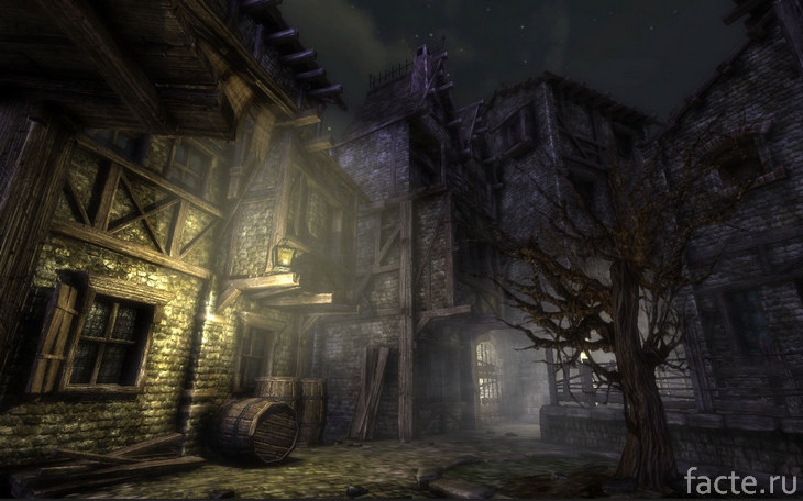 Деревня с привидениями