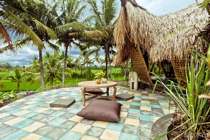 Бали. Бамбуковый эко-коттедж