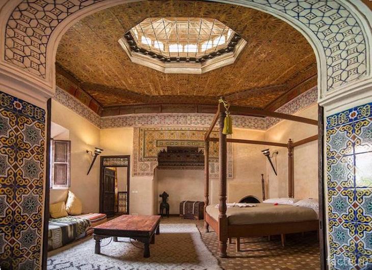 Марокко. Дворец в Марракеше