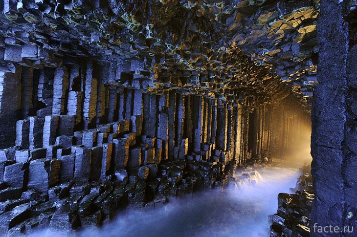 Фингалова пещера Шотландия