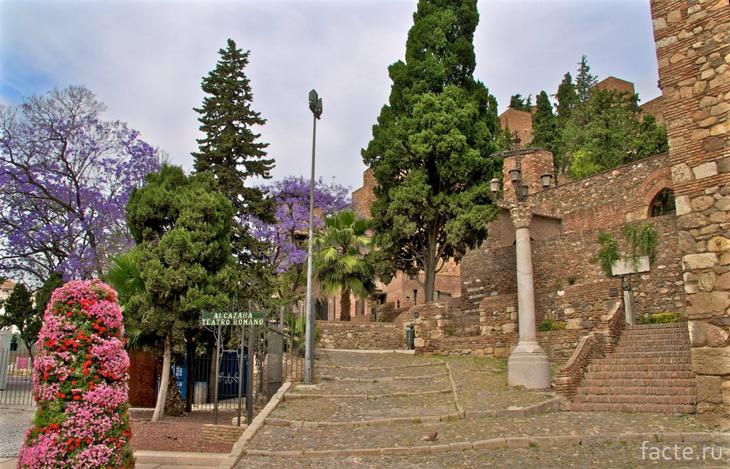 Крепость в Малаге