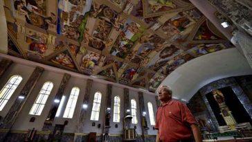 Росписи Сикстинской капеллы в Мехико